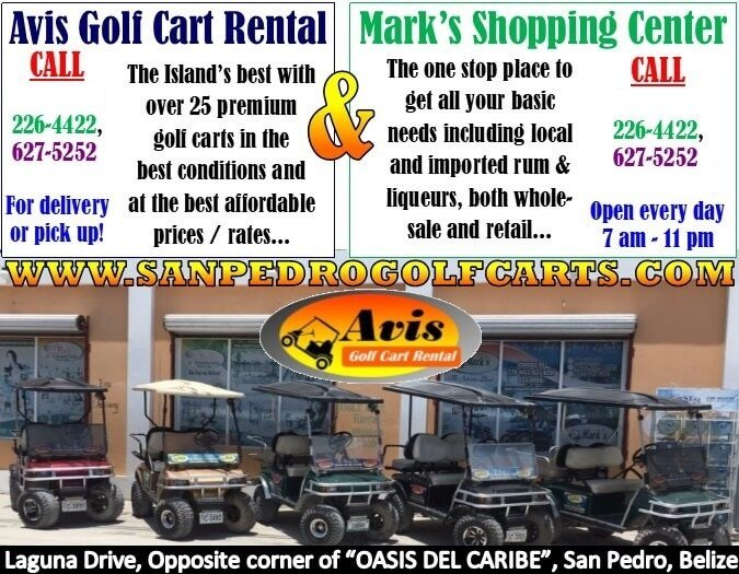 san pedro golf carts